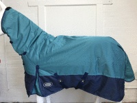 !! SALE AXIOM 1800D BALLISTIC BRIGHT BLUE/NAVY 220g HORSE COMBO RUG