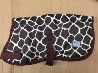 AXIOM 600D GIRAFFE WATERPROOF WARM DOG COAT