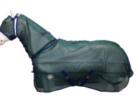 !CLEARANCE! AXIOM GREEN STRONG MESH FLYSHEET HORSE COMBO RUG