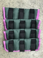 AXIOM GREEN/PINK BINDING FLOATING BOOTS - SET OF FOUR special price